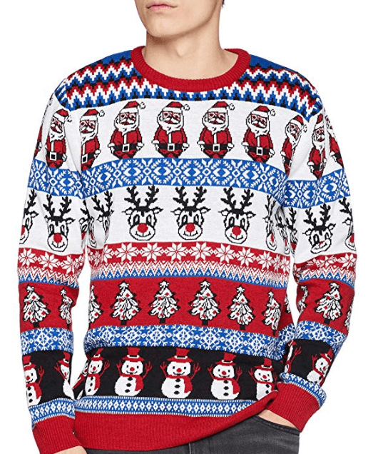 Crazy christmas jumper