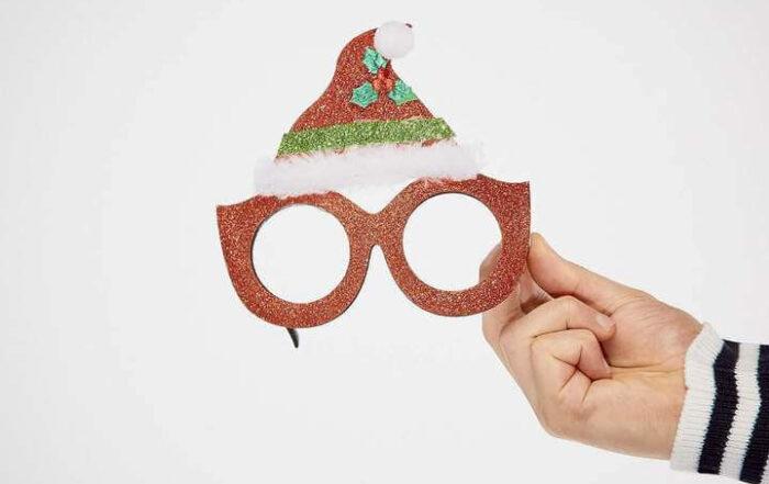 Tomteluveglasögon