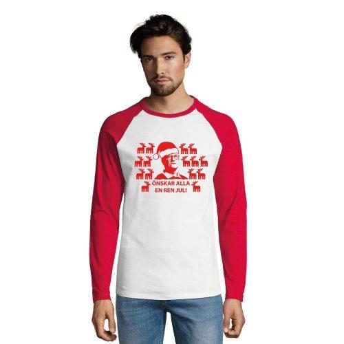 Jultröja Tegnell Håll Avstånd | Långärmad T-shirt | Herr